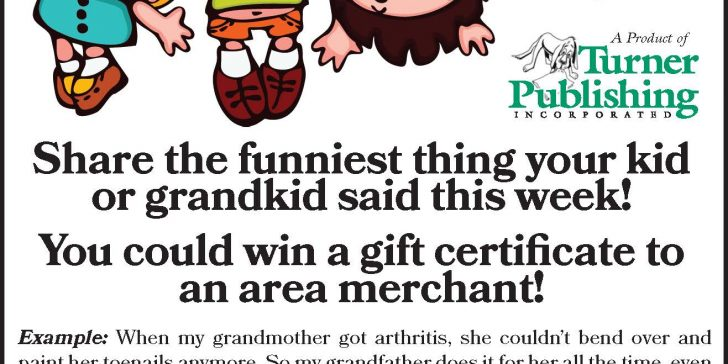 Make Us Laugh With Funny Things Your Kids Say Maine News