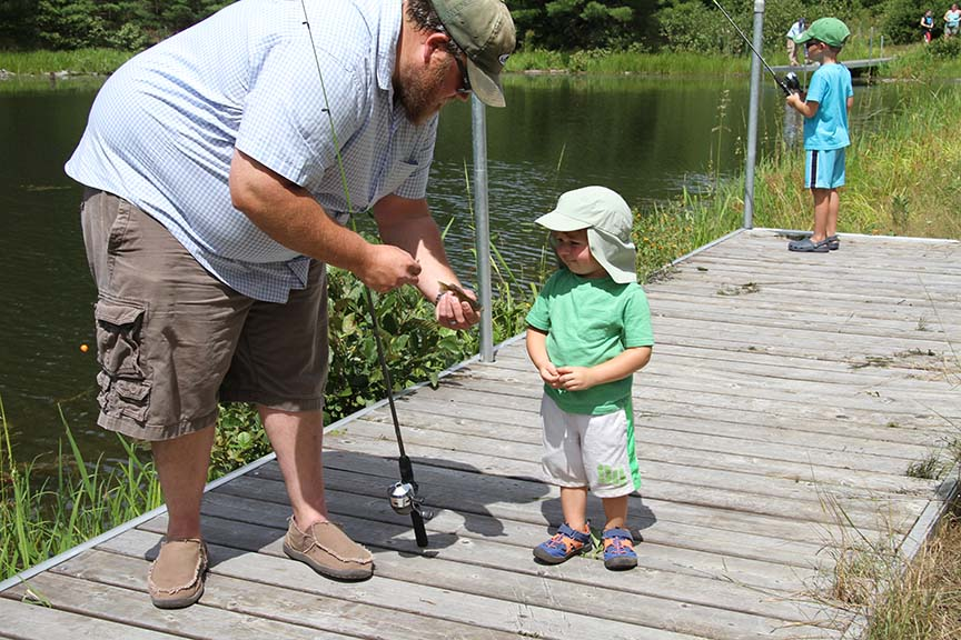 Children can learn to fish on Swan Island May 13