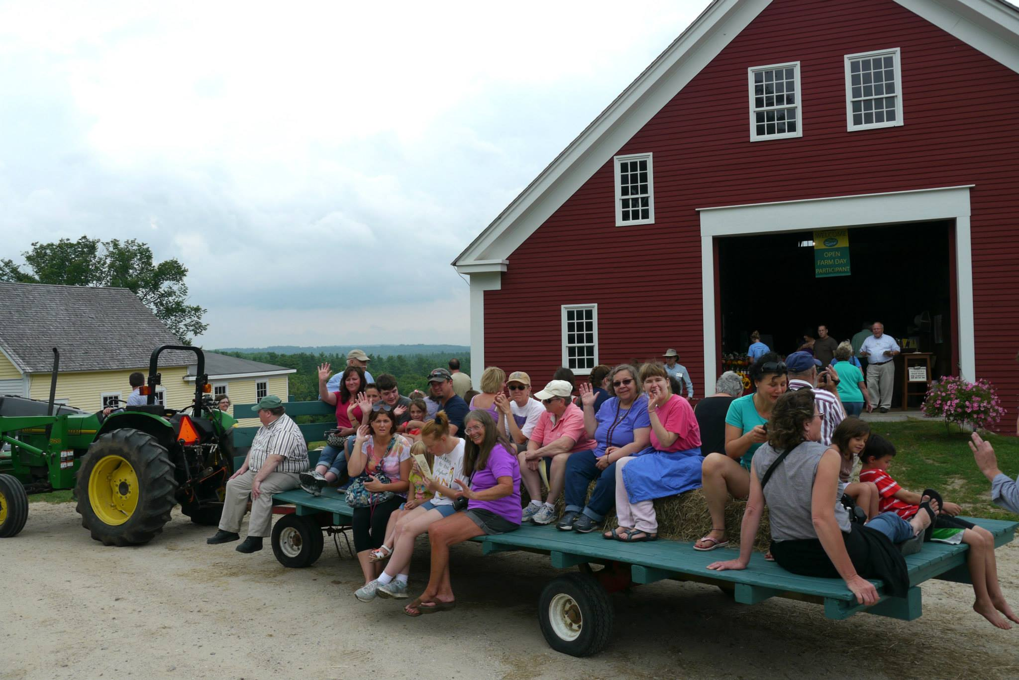shaker village to take part in maine open farm day july 23 – maine