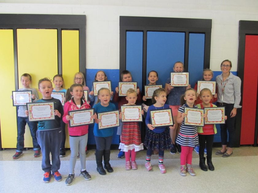 Rumford Elementary announces September students of month