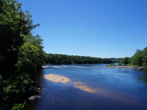 The Androscoggin River (Maureen Milliken photo)